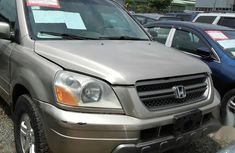Sell grey 2006 Honda Pilot automatic at mileage 183,152 in Ikeja