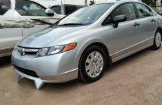 Sell well kept grey 2007 Honda Civic sedan at price ₦1,700,000