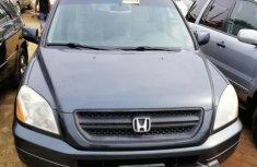 Sell used grey/silver 2005 Honda Pilot suv automatic at cheap price
