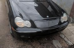 Black 2003 Mercedes-Benz C240 at mileage 100,000 for sale