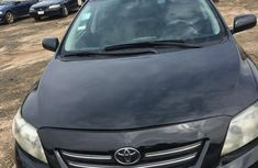 Black 2009 Toyota Corolla for sale at price ₦1,500,000 in Lagos