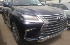 Selling 2017 Lexus LX automatic at mileage 20,000
