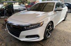 Honda Accord Sport 2018 White for sale