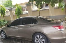 Honda Accord 2008 3.5 EX-L Automatic Gold for sale
