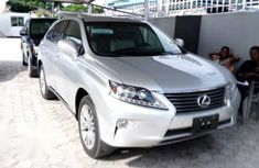 Lexus RX 350 FWD 2014 Silver for sale