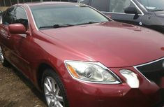 Sell cheap red 2008 Lexus GS automatic at mileage 52,355
