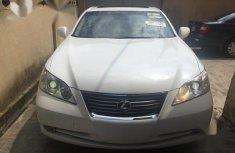 White 2007 Lexus ES at mileage 74,450 for sale in Lagos