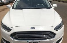 Sell white 2014 Ford Fusion manual in Ikeja at cheap price