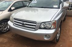 Used 2002 Toyota Highlander for sale at price ₦2,400,000 in Lagos