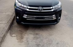 Toyota Highlander 2018 Black for sale