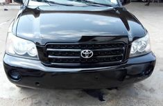 Toyota Highlander 2002 Black for sale