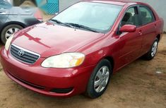 Toyota Corolla 2006 LE Red for sale