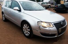 Grey 2007 Volkswagen Passat sedan automatic for sale at price ₦870,000