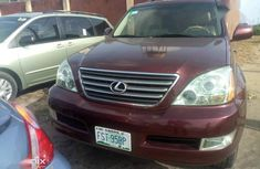Red 2008 Lexus GX car at attractive price in Lagos