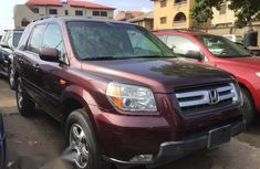 Red 2007 Honda Pilot suv  automatic for sale at price ₦2,200,000