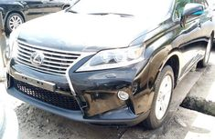 Clean used black 2014 Lexus RX suv automatic for sale in Lagos