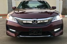 New Honda Accord 2016 Red for sale