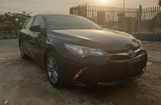 Sell well kept black 2017 Toyota Camry automatic at mileage 6,421
