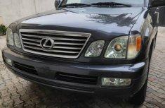 Lexus LX 2005 Black for sale