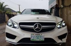 Well maintained white 2011 Mercedes-Benz E63 sedan for sale in Lagos