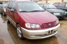 Sell well kept red 1991 Toyota Picnic automatic in Lagos