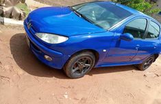 Used 2003 Peugeot 206 car manual at attractive price in Kaduna