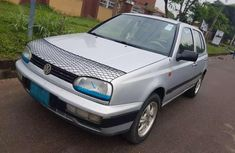 Sell grey 2003 Volkswagen Golf in Lagos at cheap price
