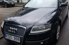 Sell used black 2006 Audi A6 sedan at price ₦2,200,000