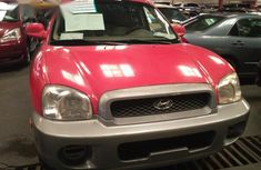 Hyundai Santa Fe 2004 Red for sale