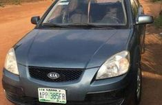 Sell well kept blue 2006 Kia Rio sedan at price ₦500,000
