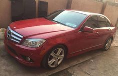 Sell cheap red 2010 Mercedes-Benz 300 sedan automatic in Lagos
