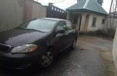 Sell used black 2008 Toyota Corolla automatic at price ₦1,320,000