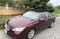 Lexus ES 2007 Red for sale