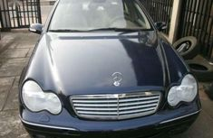 Sell blue 2005 Mercedes-Benz 240 sedan automatic at cheap price