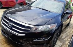 Certified black 2012 Honda Accord CrossTour automatic in good condition