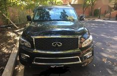 Need to sell cheap new black 2018 Infiniti QX at mileage 1,866