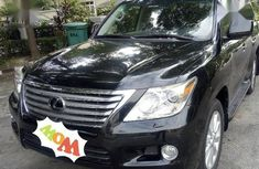 Lexus LX 2012 Black for sale