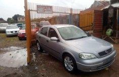 Sell cheap grey/silver 2005 Opel Astra sedan manual