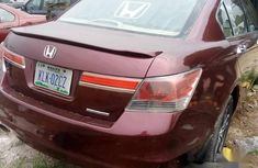 Honda Accord 2012 Sedan EX V-6 Red for sale