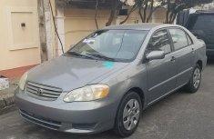 2002 Toyota Corolla sedan automatic for sale at price ₦800,000 in Maiduguri