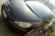 Sell used grey 2002 Peugeot 307 sedan automatic at cheap price