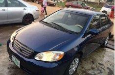 Selling blue 2004 Toyota Corolla sedan automatic in Akure