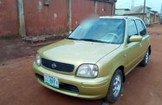 Sell well kept 2000 Nissan Micra automatic at price ₦780,000