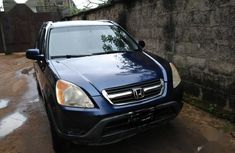 Honda CR-V 2004 EX 4WD Automatic Blue for sale