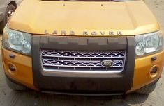 Used orange 2008 Land Rover LR3 for sale at price ₦5,000,000 in Lagos