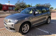 Sell cheap grey 2010 BMW X3 at mileage 35,284