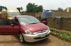Sell red 2004 Peugeot 307 at mileage 280,000 in Jos at cheap price