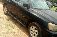 Toyota Highlander 2002 Black for sale