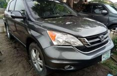 Sell well kept grey/silver 2009 Honda CR-V suv  automatic in Lagos