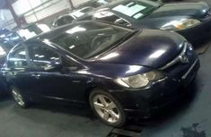 Best priced used black 2007 Honda Civic automatic in Lagos